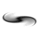 Design monochrome swirl motion background Royalty Free Stock Photos