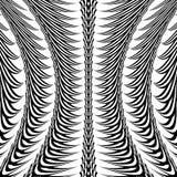 Design monochrome vertical decorative pattern Royalty Free Stock Photography