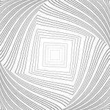 Design monochrome vortex illusion background Stock Photos