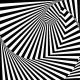 Design monochrome vortex illusion background Royalty Free Stock Image
