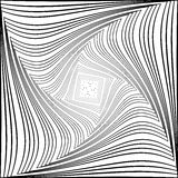 Design monochrome vortex movement background Royalty Free Stock Photos