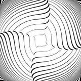 Design monochrome vortex movement background Royalty Free Stock Photos