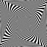 Design monochrome vortex movement background Royalty Free Stock Images