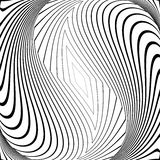 Design monochrome vortex movement background Stock Photo