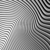 Design monochrome waving lines background Royalty Free Stock Photography