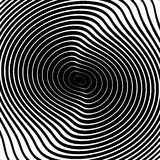 Design monochrome whirl circular background Royalty Free Stock Images