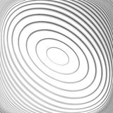 Design monochrome whirl circular background Stock Photography
