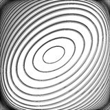 Design monochrome whirl circular background Stock Images