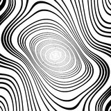 Design monochrome whirl ellipse background Royalty Free Stock Photography