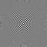 Design monochrome whirl illusion background Stock Photography