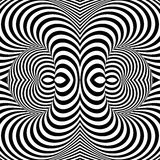 Design monochrome whirl illusion background Royalty Free Stock Photography