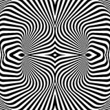 Design monochrome whirl illusion background Stock Photos