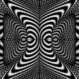 Design monochrome whirl illusion background Stock Images