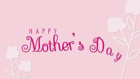 A Design about Mother`s Day Greeting with inspirational quote text