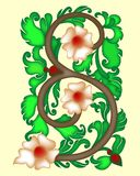 Design motif Stock Image