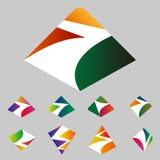 Design mountain logo element Stock Images