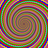 Design multicolor twirl rotation background. Abstr Stock Image