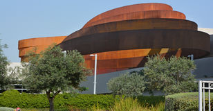 Design Museum Holon. TEL AVIV ISRAEL 06 11 16: Design Museum Holon is museum in Israel. The building of the museum was planned and designed by Israeli architect Royalty Free Stock Images