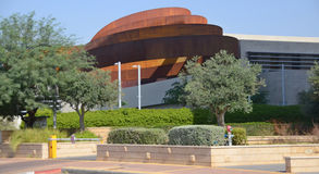 Design Museum Holon. TEL AVIV ISRAEL 06 11 16: Design Museum Holon is museum in Israel. The building of the museum was planned and designed by Israeli architect Royalty Free Stock Image