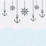 Design Nautical Template Stock Photos
