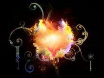Design Nebulae Arrangement Royalty Free Stock Image