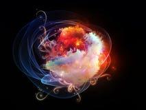 Design Nebulae Backdrop Stock Image