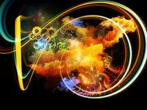Design Nebulae Background Stock Photo