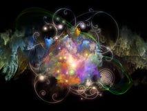 Design Nebulae Composition Stock Photo