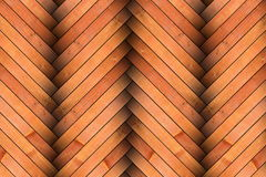 Design of new wooden parquet tiles Stock Images