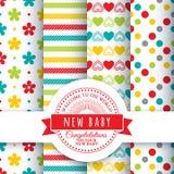Design for the newborn Stock Image