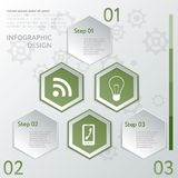Design number banners template graphic or website layout Stock Photography