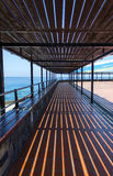 The design of the observation deck. Royalty Free Stock Photos