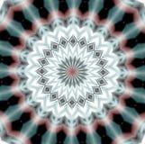 Design och bakgrund för Mandala suddig Arkivfoton
