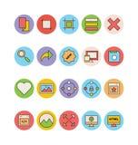 Design- och utvecklingsvektorsymboler 10 Royaltyfri Bild