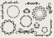 Design ornaments and page decoration Royalty Free Stock Photo