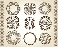 Design ornaments and page decoration Royalty Free Stock Image