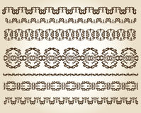 Design ornaments and page decoration Stock Image