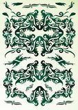 Design ornaments set Royalty Free Stock Images