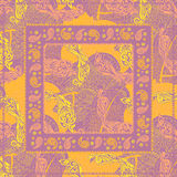 Design Paisley headscarf. Stock Photography