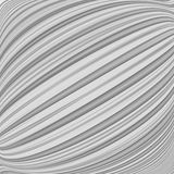 Design parallel diagonal warped lines background Stock Image