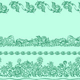 Design pattern with decorative ornament royalty free illustration