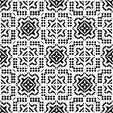 Design pattern white vector black geometric zebra decorative carpet culture elegant ornament graph papertextile star fabric floral Stock Images