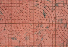 Design paving slab closeup Royalty Free Stock Image