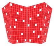 design perspective red squares ελεύθερη απεικόνιση δικαιώματος