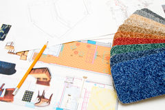 Design plans Stock Photos