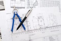 Design plans Royalty Free Stock Image