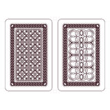 Design of playing cards Royalty Free Stock Photo