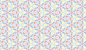 Design for printing on fabric, textile, paper, wrapper, scrapbooking. Authentic geometric background in repeat. Design for printing on fabric, textile, paper vector illustration