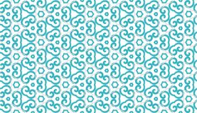 Design for printing on fabric, textile, paper, wrapper, scrapbooking. Authentic geometric background  in repeat. Design for printing on fabric, textile, paper Royalty Free Stock Photography