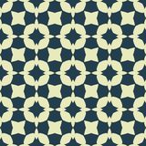 Design for printing on fabric, textile, paper, wrapper, scrapbooking. Traditional tile ornament in ethnic style. Seamless pattern. Authentic geometric Royalty Free Stock Photography
